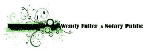 Wendy Fuller Notary Public